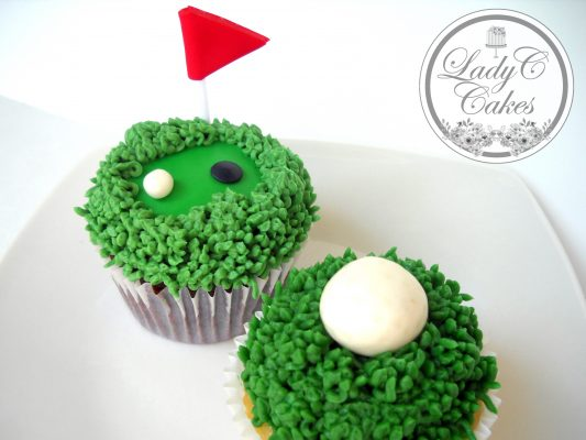 Magnificent Golf Themed Cupcakes Home Interior And Landscaping Pimpapssignezvosmurscom